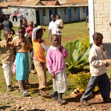 Kids in Kenya